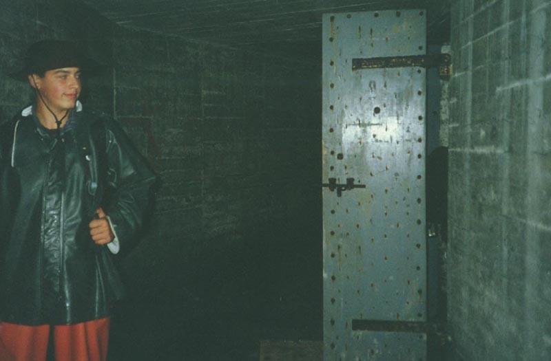 Air Compressor Room Door -  CLICK FOR LARGER VIEW