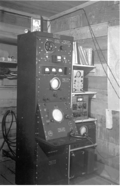 The Console for the SRC-582 radar on Makhnati Island