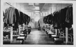 Inside Army Barracks at Fort Ray